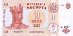 Moldova, 10 Leu, P-0010c
