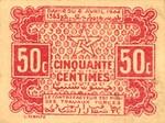 Morocco, 50 Centime, P-0041