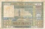 Morocco, 1,000 Franc, P-0047