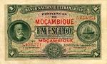 Mozambique, 1 Escudo, P-0066b