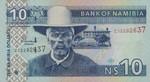 Namibia, 10 Namibia Dollar, P-0004