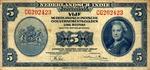 Netherlands Indies, 5 Gulden, P-0113a