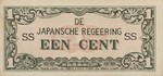 Netherlands Indies, 1 Cent, P-0119a