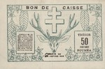 New Caledonia, 50 Centime, P-0054