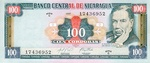 Nicaragua, 100 Cordoba, P-0187
