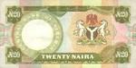 Nigeria, 20 Naira, P-0018a