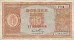 Norway, 10 Krona, P-0026d
