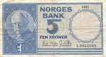 Norway, 5 Krona, P-0030b