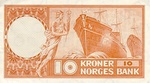 Norway, 10 Krona, P-0031b3