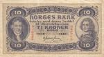Norway, 10 Krona, P-0008c