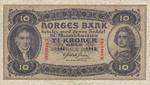 Norway, 10 Krone, P-0008c