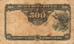 Portugal, 500 Real, P-0105a Sign.1
