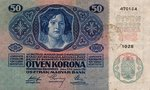 Romania, 50 Korona, R-0007