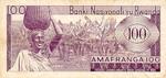 Rwanda, 100 Franc, P-0008a