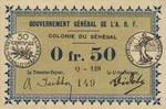 Senegal, .5 Franc, P-0001c