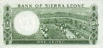 Sierra Leone, 1 Leone, P-0001c