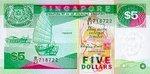 Singapore, 5 Dollar, P-0035