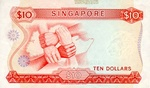 Singapore, 10 Dollar, P-0003a