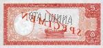 Somalia, 5 Shilling, P-0001s