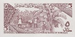 Somalia, 5 Shilling, P-0031b