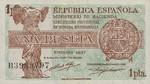 Spain, 1 Peseta, P-0094
