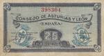 Spain, 25 Centimos, S-0601