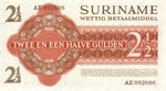 Suriname, 2.5 Gulden, P-0117a