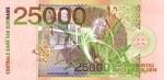 Suriname, 25,000 Gulden, P-0154