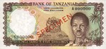 Tanzania, 5 Shilling, P-0001s