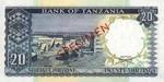 Tanzania, 10 Shilling, P-0003s