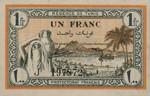 Tunisia, 1 Franc, P-0055
