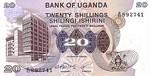 Uganda, 20 Shilling, P-0012b