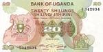 Uganda, 20 Shilling, P-0017
