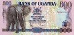 Uganda, 500 Shilling, P-0033b