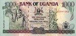 Uganda, 1,000 Shilling, P-0036 v2