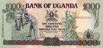 Uganda, 1,000 Shilling, P-0039a