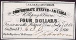 Confederate States of America, 4 Dollar,