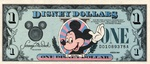 Fantasy, 1 Disney Dollar,