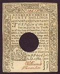 United States, 40 Shilling, S-0560