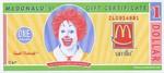 Fantasy, 1 Mcdonalds Dollar,