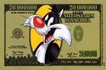 Fantasy, 20,000,000 Looney Tunes Dollar,