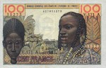West African States, 100 Franc, P-0101Ac
