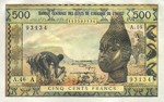 West African States, 500 Franc, P-0102Aj