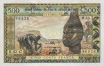 West African States, 500 Franc, P-0302Ck