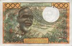 West African States, 1,000 Franc, P-0603Hh