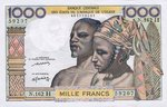 West African States, 1,000 Franc, P-0603Hm