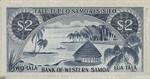 Western Samoa, 2 Tala, P-0017a