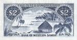 Western Samoa, 2 Tala, P-0017c