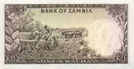Zambia, 1 Kwacha, P-0010b