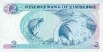 Zimbabwe, 2 Dollar, P-0001c